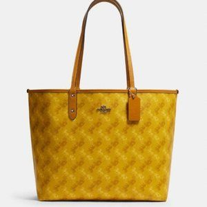 NWT Coach reversible city tote ys